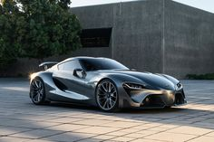Ghostly manoeuvres in the dark.  [Toyota FT-1]