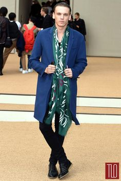 Jamie Campbell Bower in Burberry Prorsum