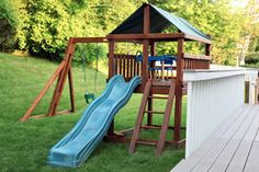 How To Build A Backyard Play Structure Fort How Did I Do It - Backyard fort ideas