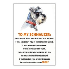 Check out our store for the best Schnauzer designs Tap link in our bio @schnauzerworld Made in the USA International delivery…