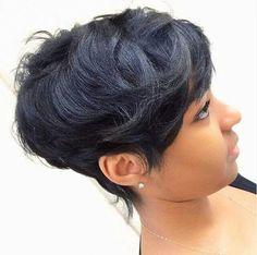 She make me wanna cut my hair again Short Sassy Hair, Cute Hairstyles For Short Hair, Pretty Hairstyles, Short Hair Cuts, Short Hair Styles, Pixie Styles, Hairstyles 2018, Pixie Cuts, Short Pixie
