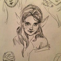 Art Drawings Sketches, Cool Drawings, Indie Drawings, Fairy Drawings, Dark Art Illustrations, Illustration Art, Pretty Art, Cute Art, Arte Sketchbook