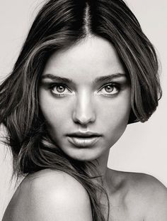 Miranda Kerr: The Rise of an Iconic Australian Female Supermodel beautiful face portrait photograph model #headshot #famous_people T: MirandaKerr