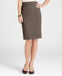 This skirt is a perfectly appropriate length for business professional or business casual wear!