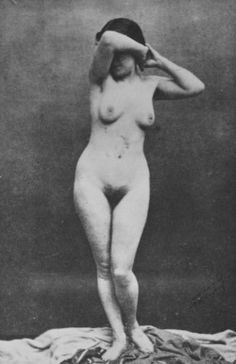 Unknown (?) model posing for Ingres as a body