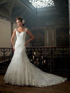 Magníficos vestidos de novia colección David Tutera 2014 | Vestidos | Moda 2014 - 2015