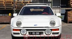 Looking for the Ford RS 200 of your dreams? There are currently 2 Ford RS 200 cars as well as thousands of other iconic classic and collectors cars for sale on Classic Driver. Ford Rs, Collector Cars For Sale, Dream Garage, Classic, Vehicles, Derby, Rolling Stock, Classical Music, Vehicle