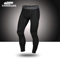 Erkek Spor Hızlı Kuru Pantolon Spor Sıkıştırma Pro Tayt Pantolon Tayt Tren Joggers Basketbol Çalışan Spor Pantolon