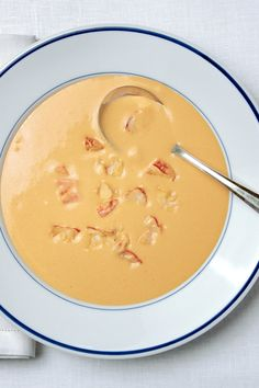 NYT Cooking: This bisque is the best chance for a home cook to shine. Adapted from the recipe of the Carlyle's executive chef, James Sakatos, it contains one of the great kitchen cheats of all time: a method for imparting rich creaminess that in a lesser establishment would come from a roux of butter and flour or a handful of cornstarch. You may end up using it all the time.