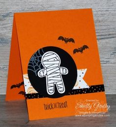 Quick and Cute Cookie Cutter Halloween Card Tutorial Video