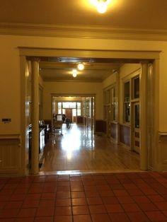 Interior hall. Fort Worth stock yards