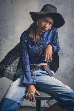 https://flic.kr/p/MkjDTw   Denim Cluster   Model - Oumayma Iribas Photo Stylism : Hamza Guelmouss Makeup & Hair : Adil Imenchal Fashion designer : Rime Samie  Location : Usine settavex - Settat  One light set up with one ilux summit 600 and octobox 120cm  #denim #mdc #fashion #oumaymairibas #hamzaguelmouss #mode #jeans #blue #hat #portrait #people #photography #style #morocco #maroc