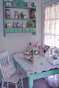 Gabriela Gonçalves: Inspirações para o cantinho da costura