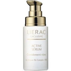 1 oz Exclusive Wrinkle-Filling Serum by Lierac Night Care. $98.95. Restores the skin's physiological balance and corrects skin imperfections. Combats deep wrinkles and skin slackening. Merges advanced scientific research with botanical expertise. Plumping effect. 1 oz Exclusive Wrinkle-Filling Serum