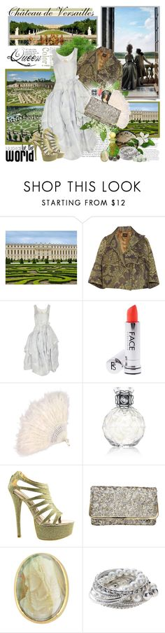 """Château de Versailles...."" by purplecherryblossom ❤ liked on Polyvore featuring Vivienne Westwood Anglomania, Vivienne Westwood Gold Label, J.Crew, Precious Moments, Chinese Laundry, Dune and KING"