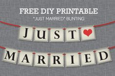 You are going to love the DIY feature this month. Anna Skye from Download and Print is telling you how to make a DIY Just Married Bunting. It a sign that can be hung at your wedding, put on a car or can be held when taking pictures. You can get a freedownload, but she [...]