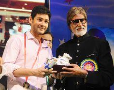 Amitabh Bachchan & Mahesh Babu @ Nandi Awards