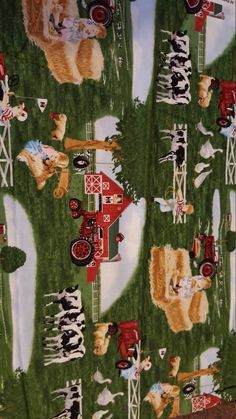Check out this item in my Etsy shop https://www.etsy.com/listing/460138246/barn-yard-fabric