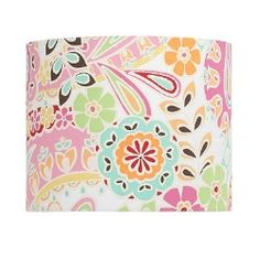 Paisley lamp shade-so cute for girl's bedroom