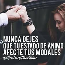 ⚜ Buenos modales /