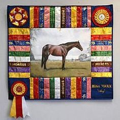 I love this use of ribbons.  I think I'll try to do this for Don.  He would love this.  Maybe by Christmas???