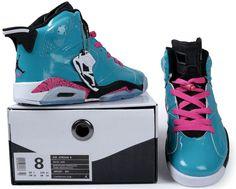 Air Jordans 6 Cool Blue jordan Shoes Sale, More than 50% Off - 71$ ONLY!!