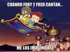 Sobre bonnie, fred, incluso Félix, siempre amaré a foxy