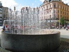 Freedom Square - fountain Skacel  (Nám.Svobody - Skácelova kašna)