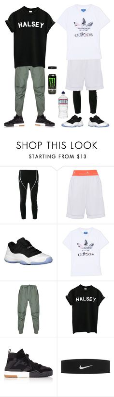 """training Sports gym"" by dory013 ❤ liked on Polyvore featuring Fendi, adidas, Retrò, adidas Originals, Maharishi, Alpine and NIKE"