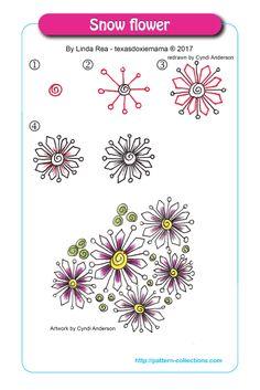 Snowflower by Linda Rea