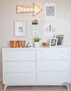 light up arrow, mini decorations