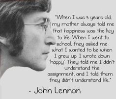 John Lennon #Life #quote