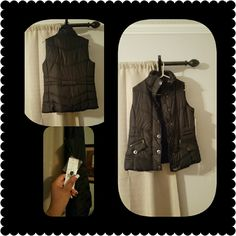 Selling this Brand New With Tags Black Puffer Vest in my Poshmark closet! My username is: l_boyce. #shopmycloset #poshmark #fashion #shopping #style #forsale #Jackets & Blazers