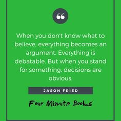 ReWork Summary - Four Minute Books Sell Your Business, Starting A Business, What You Can Do, How To Find Out, Jason Fried, Book Summaries, Screwed Up, Everyone Knows, Project Management
