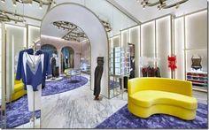 New image for La Perla boutique in the Dubai Mall. Mall Design, Retail Design, Lingerie Store Design, Dubai Mall, Boutique Stores, Love To Shop, New Image, Interior Design, Furniture