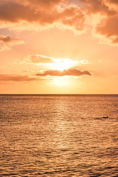 Hawaii Sunset at Electric Beach