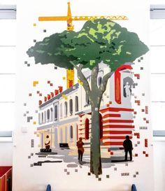 Le #QuaidesSavoirs de #Toulouse vu par @legolenz avec cette #fresque du #QuaidesPetits  #ByToulouse #VisitezToulouse #We_Toulouse #igerstoulouse #tourismemidipy #exposition #jeux #enfants #children #qds #csti #culturescientifique #Lenz #Lego #LegoLenz #graff #arturbain #graffiti #instagraffiti #instastreetart #toulousegraffiti #streetartoulouse #toulousestreetart #spraycanart #spraycan #latergram