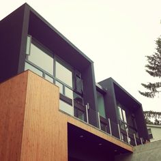 Cool house in Portland (designed by a friend!).  #architecture