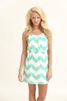 Stunning Side Dress Mint