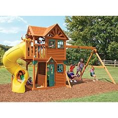 This one is from costco. $1399. About double what I had hoped to spend but pretty nice. Kind of a play house too.
