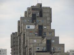 Block 63, Novi Beograd, Belgrade.