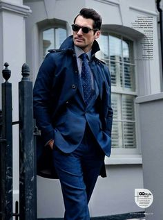 Sharp dressed Men's style / karen cox.  DJG