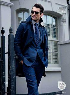 Sharp dressed Men's style / karen cox.  DJG
