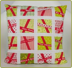 Christmas pillow | Not only gifts, but also some decorations… | Flickr