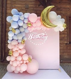 Per cdo info kontaktoni ne 0699762931 Baby Girl Birthday Theme, Girl Birthday Decorations, Balloon Decorations Party, Baby Shower Decorations, Birthday Party Themes, Balloon Party, Happy Birthday, Deco Baby Shower, Baby Shower Themes
