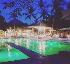 Nice place for #sundowner ;) #kohphangan #thailand #pool #summer #night #nachtaufnahme