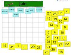 Comme j'en ai un peu assez des calendriers à gommettes et à pochettes, j'ai créé un calendrier pour TNI à construire avec les élèves afin de les faire participer à chaque mois. Il s'agit d'un canevas de 10 mois que l'on peut modifier à sa guise (couleurs, ajout d'images ou … French Websites, Core French, Samar, Periodic Table, Notebook, School, Images, Comme, Ipad