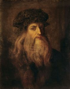 Self Portrait by Leonardo da Vinci Historians believe that Leonardo da Vinci's love of riddles led him to paint himself as a woman - with some believing the Mona Lisa is a self-portrait! Renaissance Men, Italian Renaissance, Mona Lisa, Art Ancien, Classical Art, Renoir, Vincent Van Gogh, Famous Artists, Art Blog