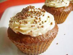 Briose cu crema de branza Brownies, Muffin, Cooking, Breakfast, Desserts, Food, Cupcake, House, Cake Brownies