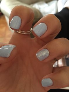 #cnd #shellac #creekside done by angel at all about you in standish Winter Nails - http://amzn.to/2iDAwtQ